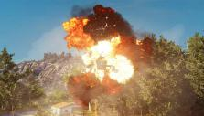 Helicopter destruction in Just Cause 3