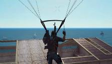 Parachuting in Just Cause 3