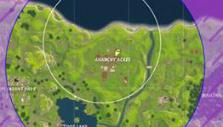 Storm map in Fortnite BR