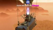 Battle Bus in Fortnite BR