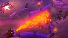 GUNS UP: Flamethrower