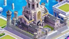 Upgraded castle in Crystal of Re:union