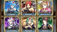 Unlock hero stories in Crystal of Re:union