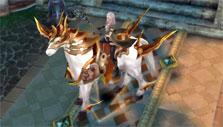 Horse mount in Dragon Ring