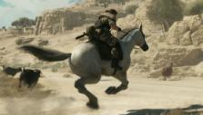 Galloping D-Horse in Metal Gear Solid V: The Phantom Pain
