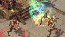Sacred Saga Online: Combat