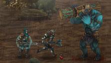 Moonfall: Boss fight