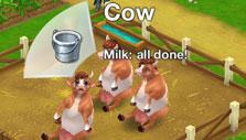 Milking the cows in Wild West: New Frontier