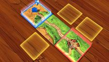 Starting a game in Carcassonne