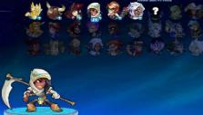 Selecting Legends in Brawlhalla