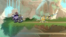 Strong lance strike in Brawlhalla
