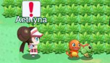 Auto-battle in Pokemon Mega