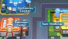 Pokemon Mega: City map