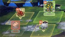 Closers: Placing items in the garden