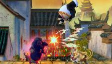 Chaotic action in Kung Fu Panda Showdown of Legendary Legends