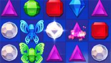 Bejeweled Stars: Butterflies