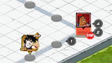Level selection in Dragon Ball Z Dokkan Battle