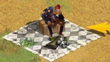 Player stall in Record of Lodoss War Online