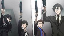 Anime cutscene in Psycho-Pass: Mandatory Happiness