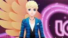 Choosing an avatar in Love Dance