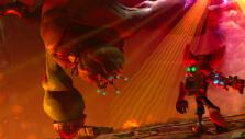 Ratchet & Clank vs a boss