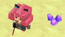 WarPixIO Online: Purple mushroom