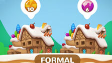 Hi Word Blast: Collect two types of candies