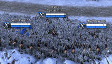 Hiding in preparation for an ambush in Total War Arena