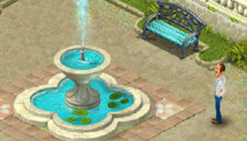 Choosing a decor in Gardenscapes: New Acres