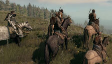 Life is Feudal: Riding with friends