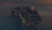 Intimidation tower in Mad Max