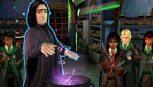 Harry Potter: Hogwarts Mystery: Potions class