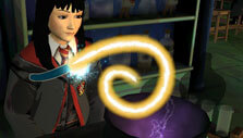 Finishing a potion in Harry Potter: Hogwarts Mystery