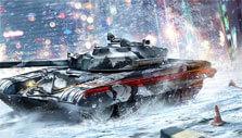 Snowscape in Armored Warfare