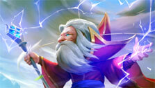 Wizard in Heroes Tactics