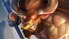 Minotaur in Heroes Tactics