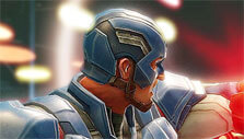 Captain America in MARVEL Strike Force