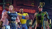 Mixed Team in MARVEL Strike Force