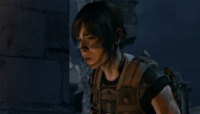Jodie performing a mission in Beyond: Two Souls