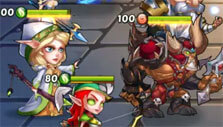 Gameplay for Idle Heroes