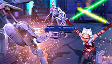 Combat in Star Wars: Galaxy of Heroes