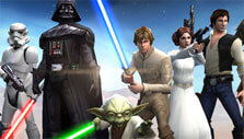 Heroes and Villains in Jedi in Star Wars: Galaxy of Heroes