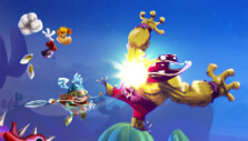 Teaming up vs an enemy in Rayman Legends