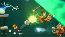 Kicking enemies in Rayman Legends