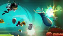 Smashing enemies in Rayman Legends