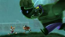 Fleeing from a foe in Rayman Legends