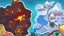Map in Hustle Castle: Fantasy Kingdom