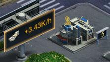 Resource buildings in Mafia City