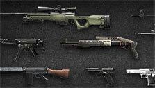 Guns in CrossFire: Legends