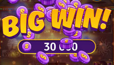 Big win in Tiffany's Bingo